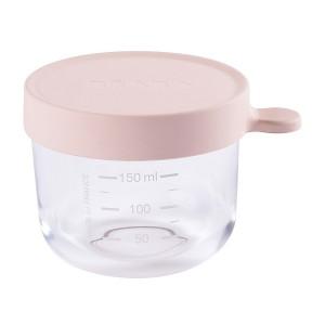 Bote de Conservacion Beaba Portion cristal 150 ml - Rosa Accesorios Babycook