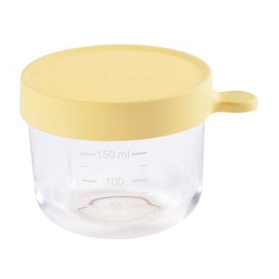 Bote de Conservacion Beaba Portion cristal 150 ml - Amarillo Accesorios Babycook
