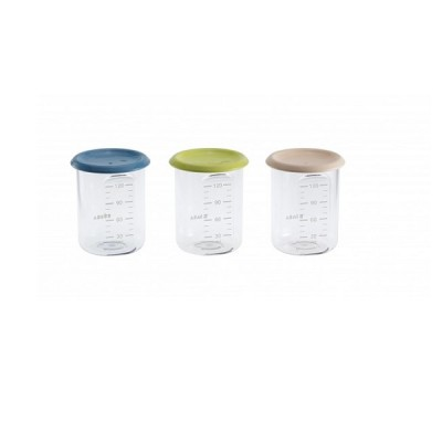 3 Botes de comida Baby Portions 120 ml
