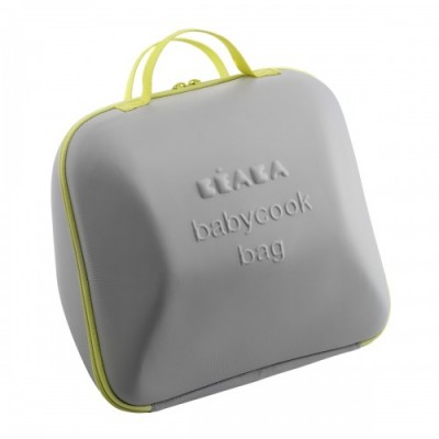 Bolsa transporte Babycook Beaba - Gris/Pistacho