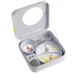 Vajilla melamina de Beaba - Conejito Accesorios Babycook