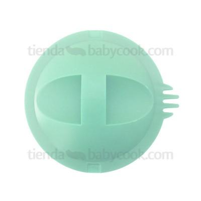 Tapa antisalpicaduras Babycook Solo y Duo verde agua Recambios Babycook